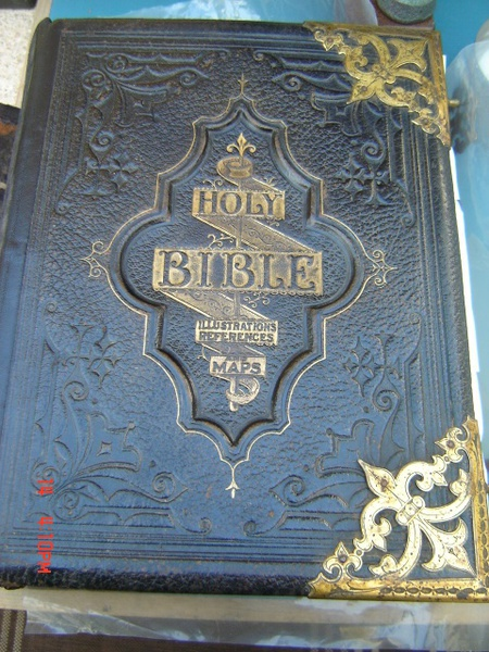 leather bible book binding restoration conservation