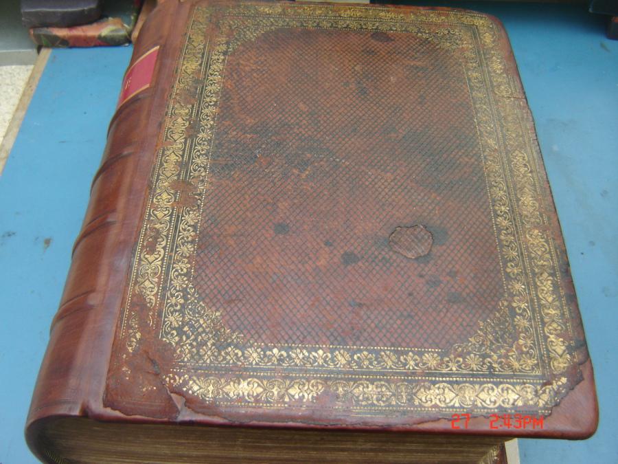 Leather Bible & Book Binding Restoration & Repair - Paper